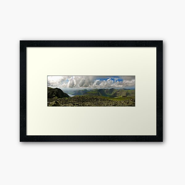 Scafell Pike, Lake District Framed Art Print