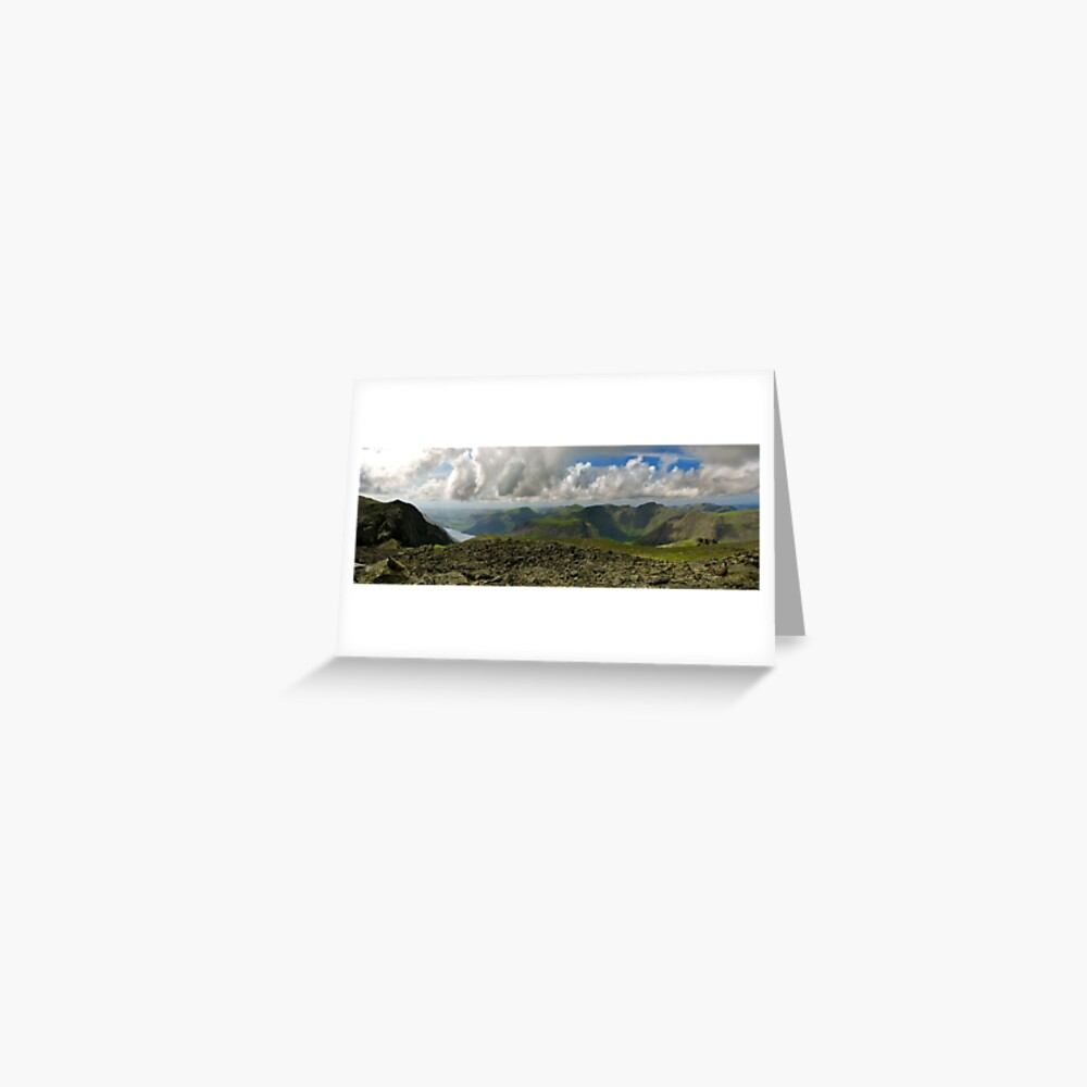 Scafell Pike, Lake District Greeting Card