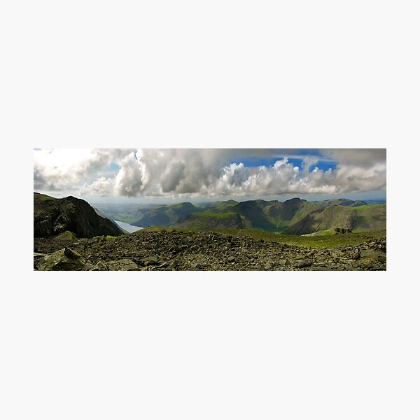 Scafell Pike, Lake District Photographic Print