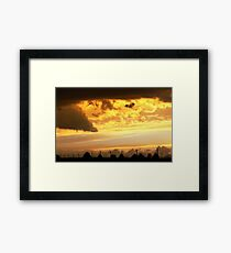 Forewarning Framed Print