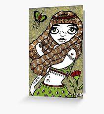Belinda (Belly Dancer) Greeting Card