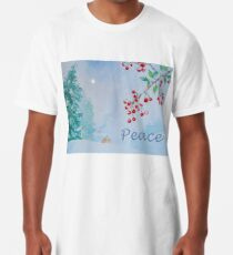 Peace - Snow on the Berries Long T-Shirt