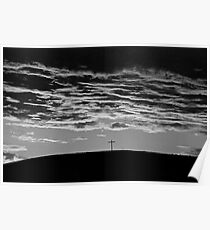 Storm approaching over Dollard Poster