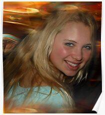Blond Beauty Poster