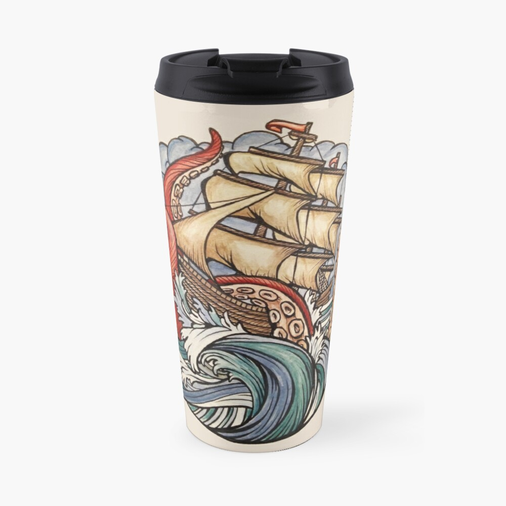 The Kraken Travel Mug