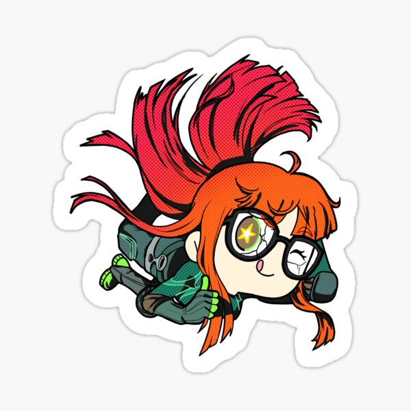 Chibi Futaba All out attack Sticker