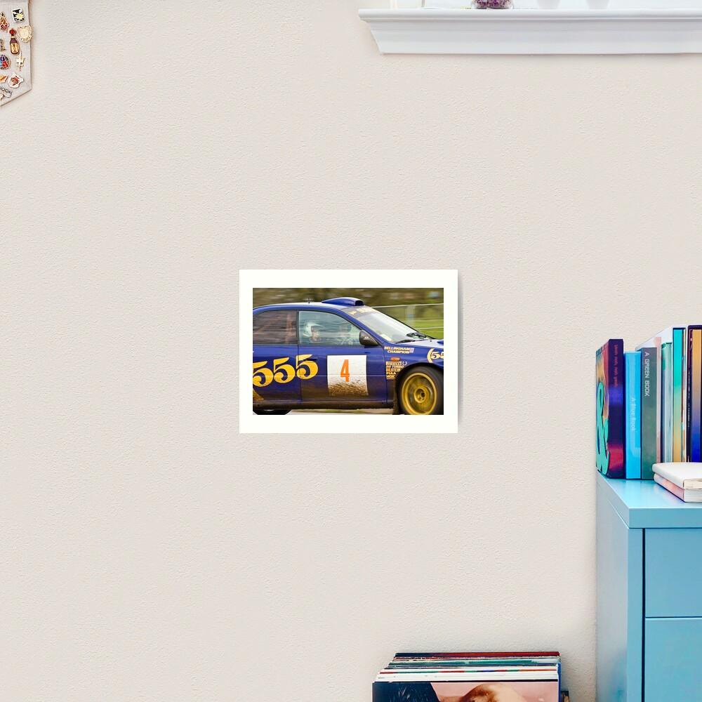 Subaru Impreza 555  Art Print