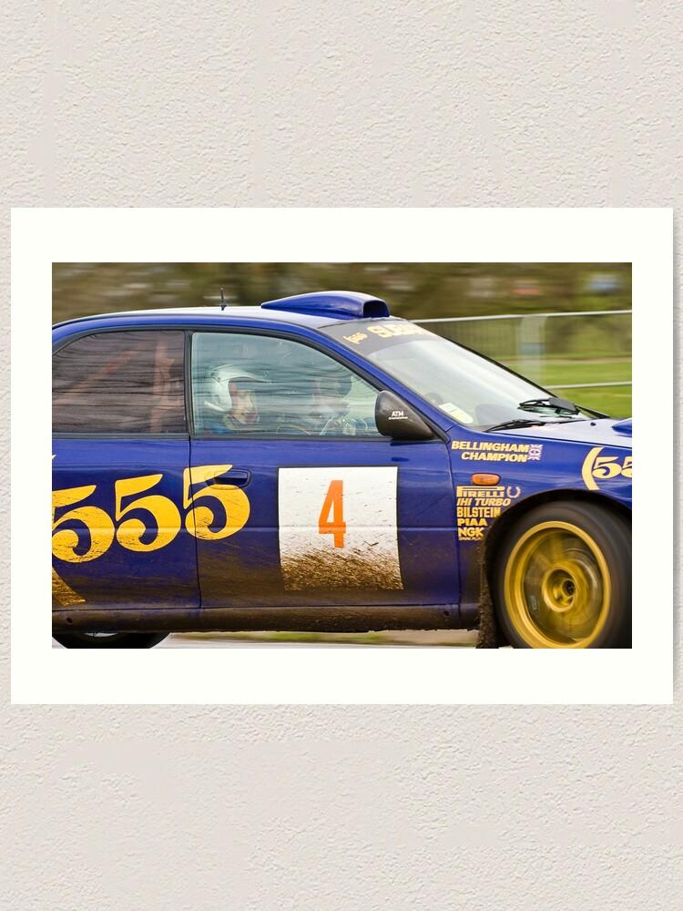 Alternate view of Subaru Impreza 555  Art Print