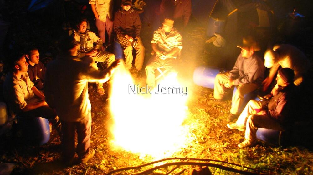 Milk on Fire by Nick Jermy