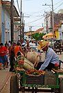 The mobile Grocer, Trinidad, Cuba by David Carton
