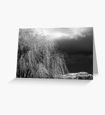 Winter's Dirge Greeting Card