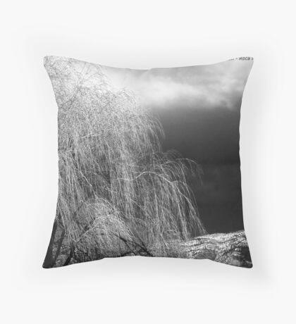 Winter's Dirge Throw Pillow