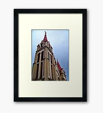 St. Matthew's Church - Kalispell, Montana (USA) Framed Print