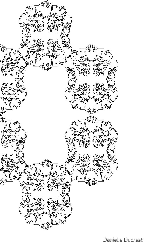 Clockwise Scrolls by Danielle Ducrest