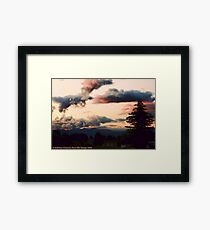 Big Mountain Evening Framed Print