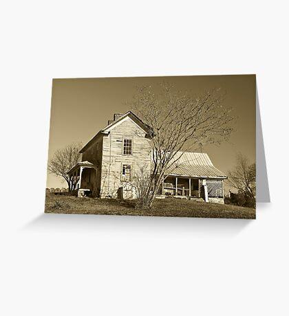 Country Farm House Greeting Card