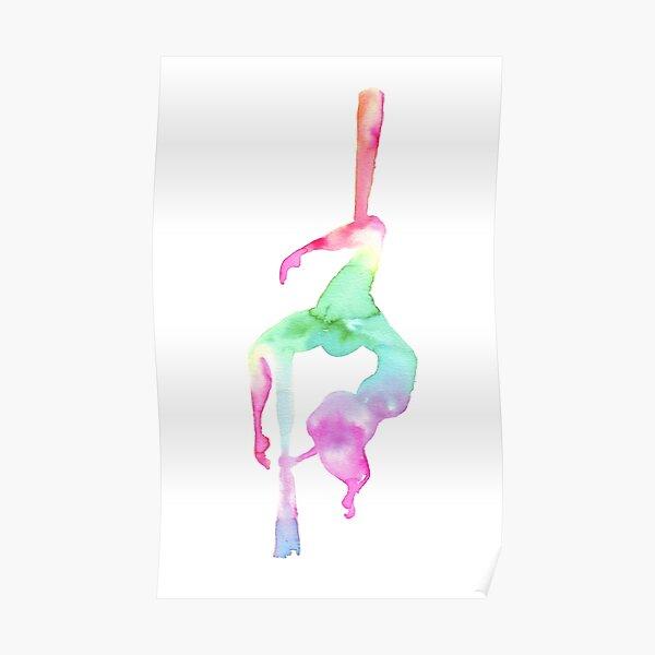 Aerialist - Aerial silk Poster