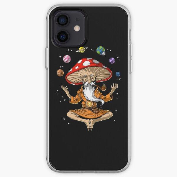 Magic Mushroom Buddha iPhone Soft Case