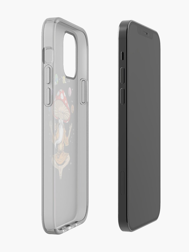 Alternate view of Magic Mushroom Buddha iPhone Case & Cover