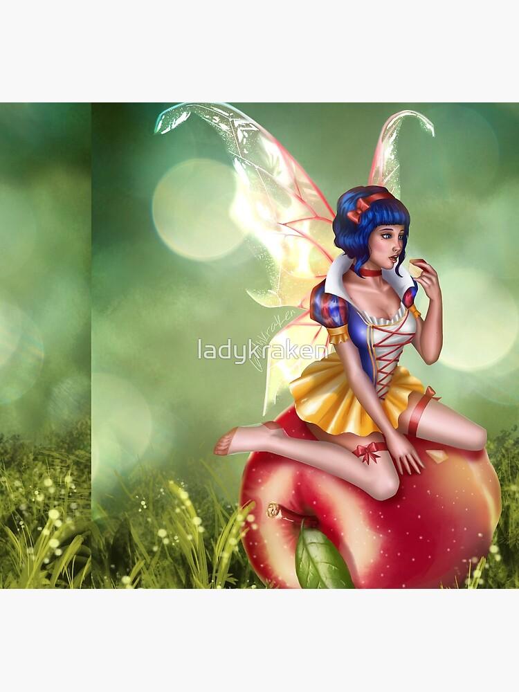 Apple Fairy by ladykraken