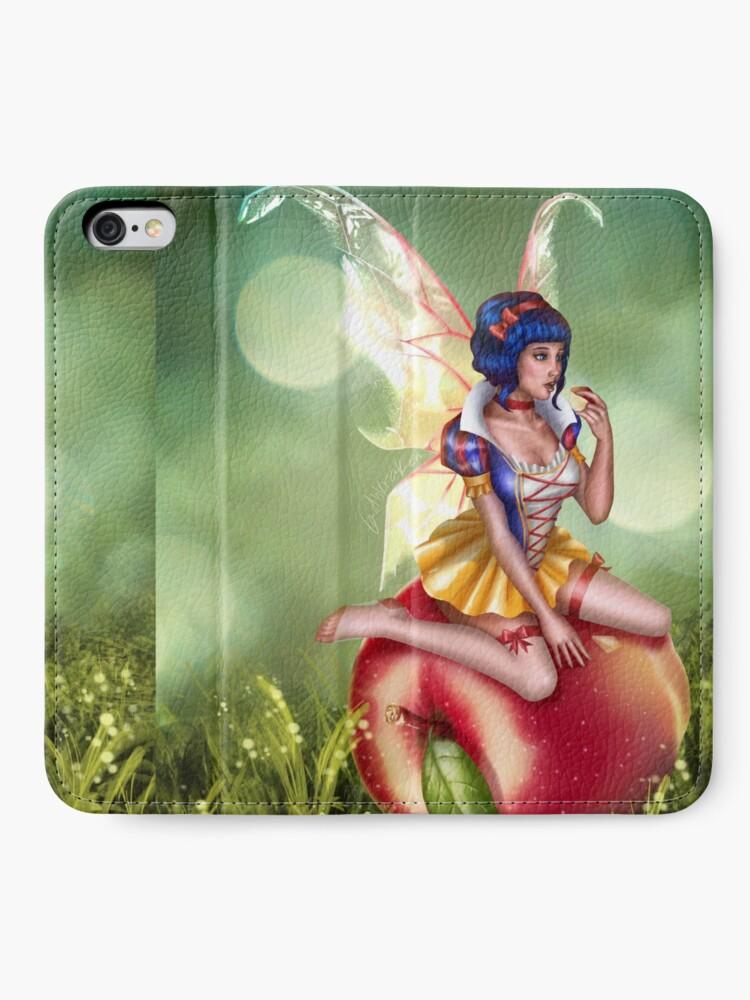 Alternate view of Apple Fairy iPhone Wallet