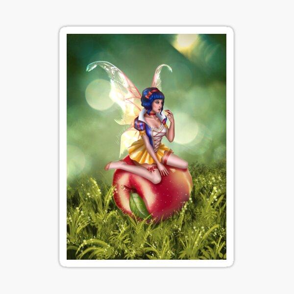 Apple Fairy Sticker