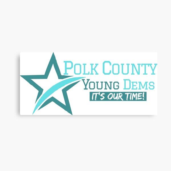 Polk County Young Democrats Canvas Print