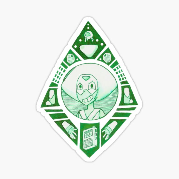 Peridot - Steven Universe Sticker