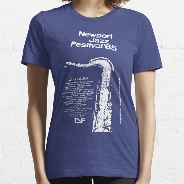 Newport Jazz Festival '65 (distressed design) Essential T-Shirt