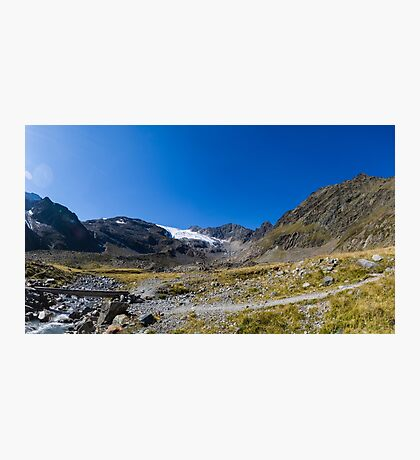 Tibet - or am I still in The Tyrol Photographic Print