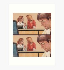 Which One is Jim - Cinematic Version Art Print