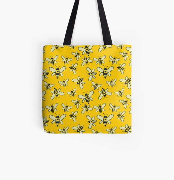 Honey Makers All Over Print Tote Bag