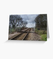 Where's the tram when you want one ? Greeting Card