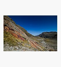 Red Stone Photographic Print