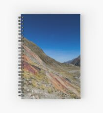 Red Stone Spiral Notebook