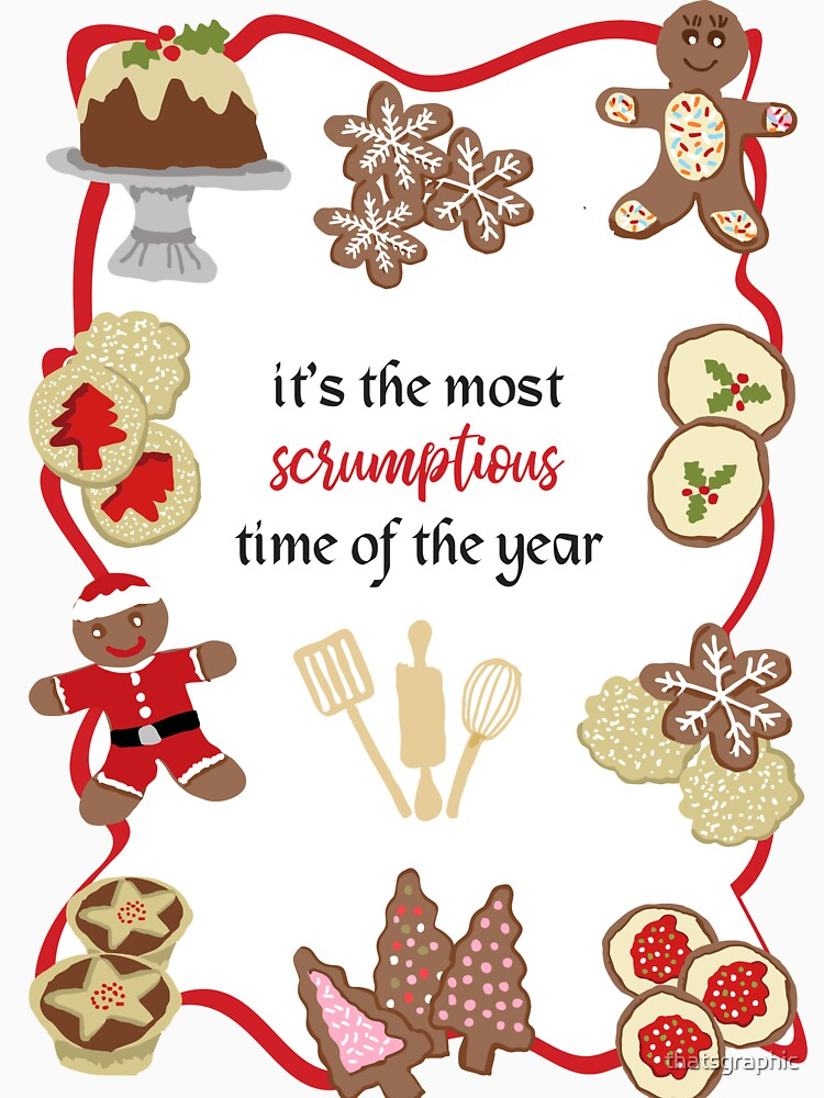Scrumptious Christmas Cookies by thatsgraphic