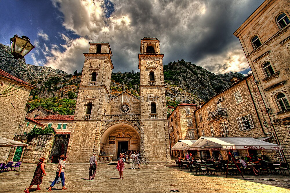Quot Old Town Of Kotor Montenegro Quot By Reuven Brenner Redbubble