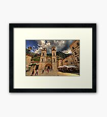Old town of Kotor, Montenegro Framed Print