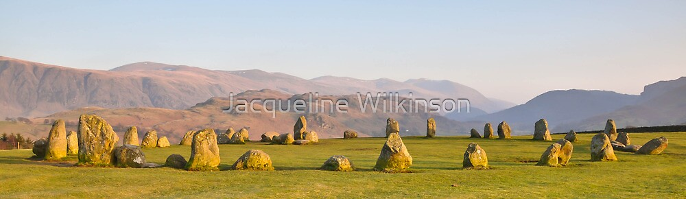 Castlerigg Stone Circle by Jacqueline Wilkinson
