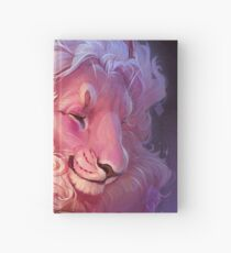 Lion Journal (Right Handed Version) Hardcover Journal