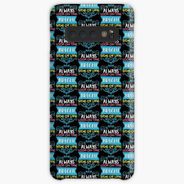 Always Look On The Bright Side Of Life Positivity Tile Pattern Samsung Galaxy Snap Case