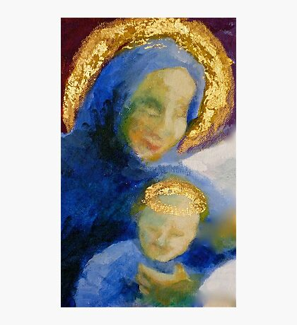 Madonna and child (detail) Photographic Print