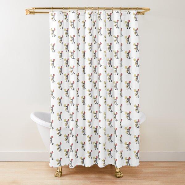 Lieutenant Gwynne Shower Curtain