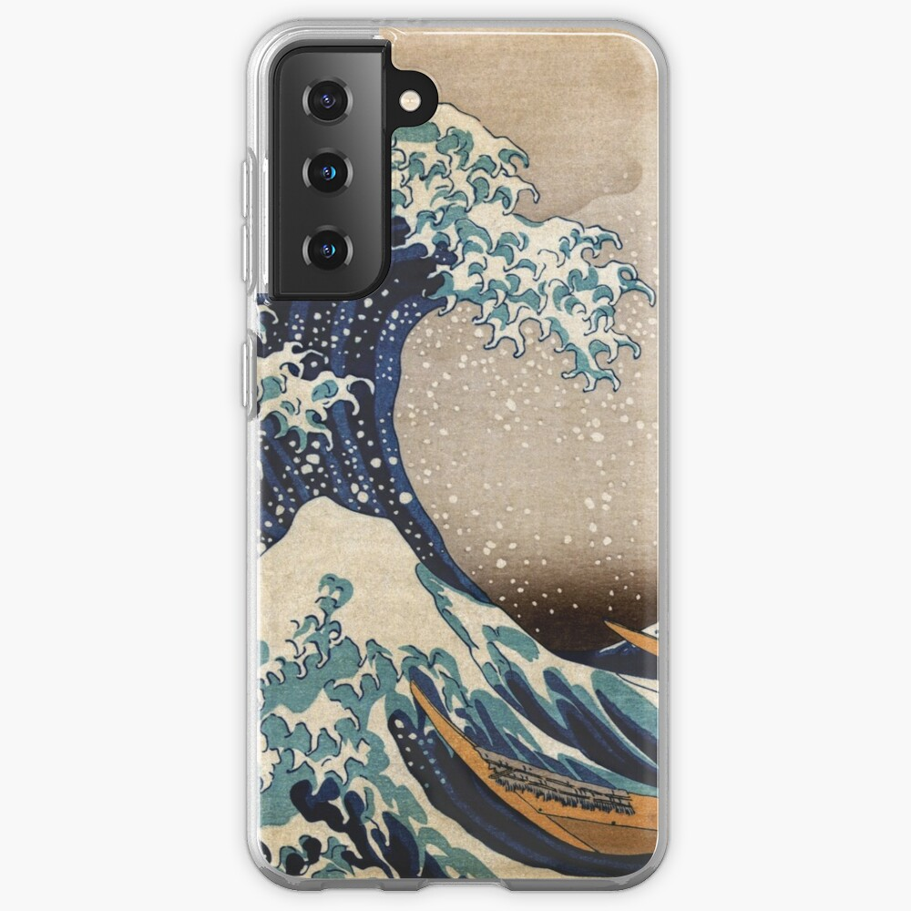The Great Wave off Kanagawa Case & Skin for Samsung Galaxy