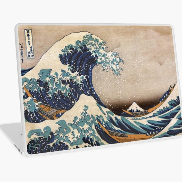 The Great Wave off Kanagawa Laptop Skin