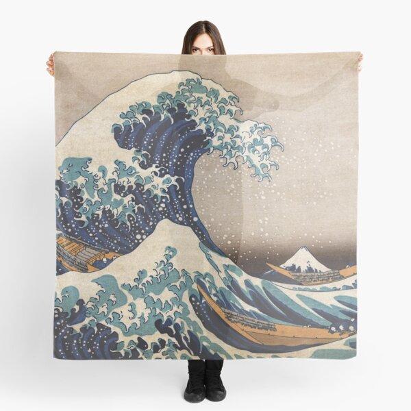 The Great Wave off Kanagawa Scarf