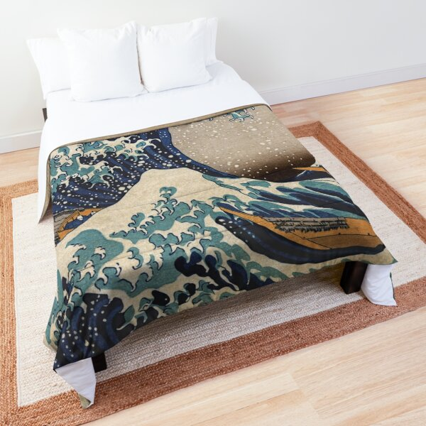 The Great Wave off Kanagawa Comforter