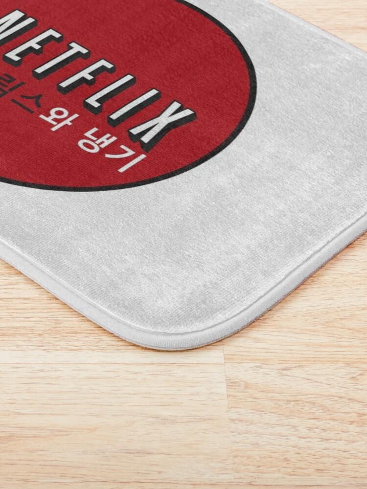 Alternate view of Netflix and Chill South Korea Bath Mat