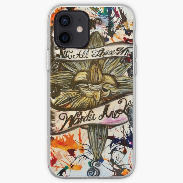 Not All That Wonder are Lost  iPhone Soft Case