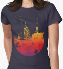 Street view Womens Fitted T-Shirt
